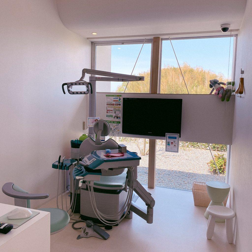 うえたに歯科の院内風景
